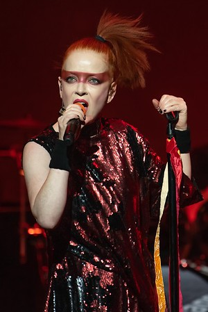 Shirley Manson of Garbage at the Borgata Music Box