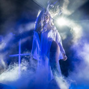 Maria Brink of In This Moment at the BB&T Pavilion