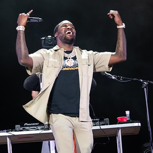 MEEK MILL AT THE MADE IN AMERICA FESTIVAL