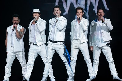 NKOTB  -Wells Fargo Center