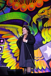 Rosie O'Donnell came out to do a great comedy bit.