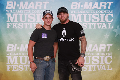 2016 bi mart willamette country music festival meet greet jeremy brantley gilbert m4hsunfo
