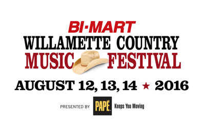 2016 Bi-Mart Willamette Country Music Festival Meet & Greet
