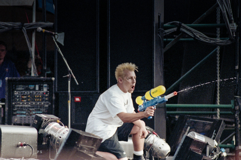 Moore Park, Sydney, NSW, Australia<br /> The Offspring at the 1995 Big Day Out.