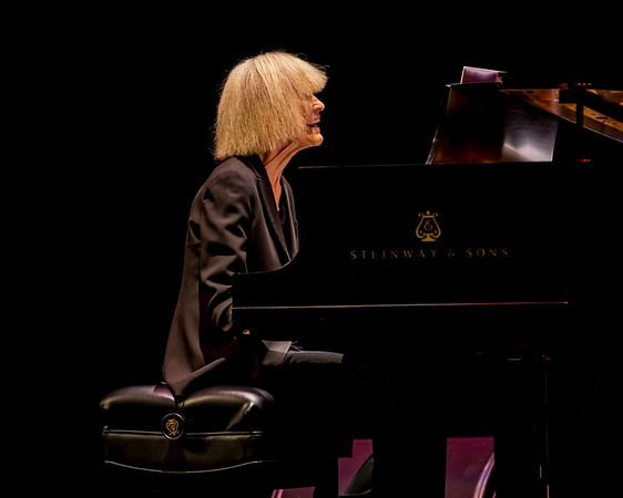 Carla Bley at the Big Ears Festival March 23, 2017.