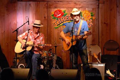 Bill Chambers and Andrew Hardin at Threadgills