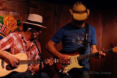 Bill Chambers and Andrew Hardin at Threadgills