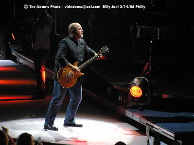 Billy Joel 2-14-06 Philly