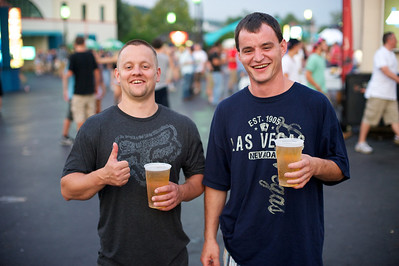 Nathan and Mark of Cincinnati at Riverbend Sunday for Blink 182 and My Chemical Romance