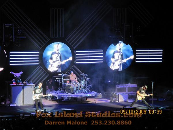 Blink-182, Wheezer, Taking Back Sunday, Auburn WA 2009