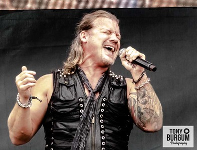 Fozzy play the main Ronnie James Dio stage at Bloodstock 2018. Featuring Chris Jerrico, Paul Di Leo, Rich Ward, Billy Grey and Frank Fontsere.