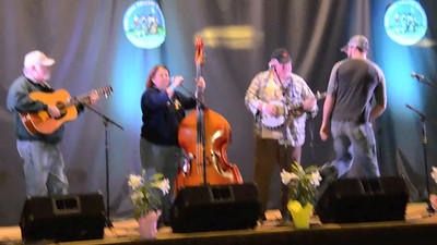2015 Union Grove Fiddlers Convention - Briar Pickers 4th place - bluegrass band