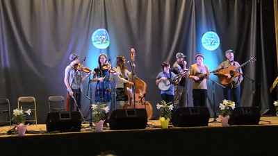 VIDEO: 2015 Union Grove Fiddlers Convention - Strictly Strings 3rd place - old time band