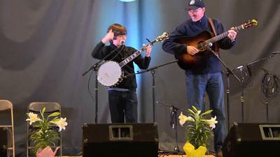 VIDEO: 2015 Union Grove Fiddlers Conv - Liam Purcell youth male vocal competition 3rd - old time fiddle