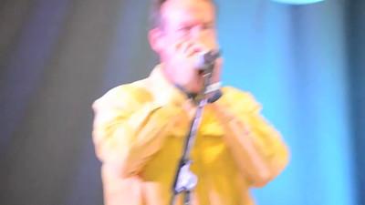 VIDEO: 2015 Union Grove Fiddlers Convention - Mel Jones 2nd place - harmonica