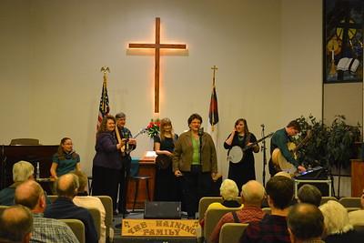 Introducing The Haining Family at Calvary Free Lutheran Church, Mesa, AZ - 1-15-17