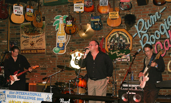 International Blues Challenge, Beale Street, Memphis, February 2005