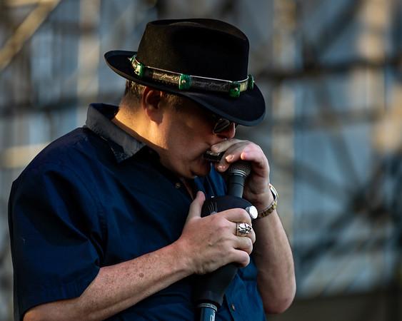 Blues Traveler at the Farm Bureau Insurance Lawn at White River State Park. Photo by Tony Vasquez.
