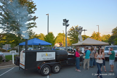2015 Blues & Burritos @ Homesley Law Offices in Mooresville, NC  9-18-15