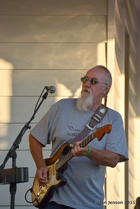 Rusty Barkley - 2015 Blues & Burritos @ Homesley Law Offices in Mooresville, NC  9-18-15