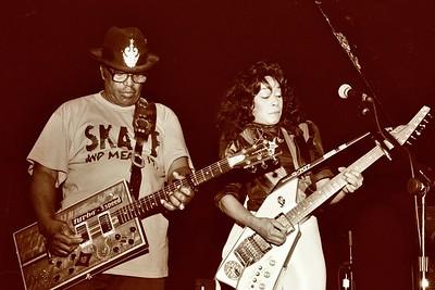 Bo Diddley + Lady Bo + Wally Malone