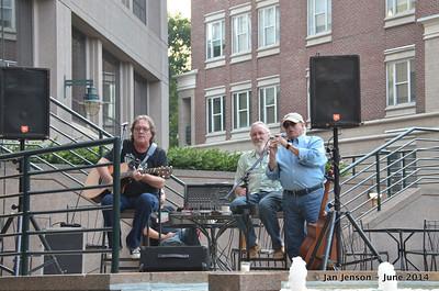 Bobby Donaldson, Rusty Barkley and Rick Ballew