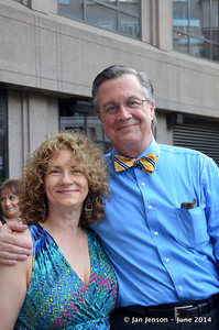 Sandra Frazier and Jim Sellers