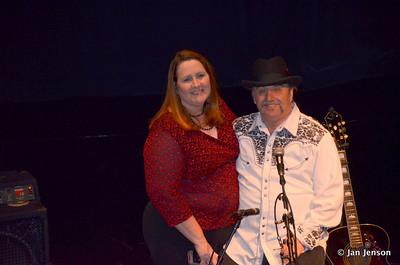 Debbie & Chuck before concert