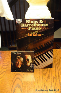 Ann Rabson's new book and her new CD... with Bob Margolin