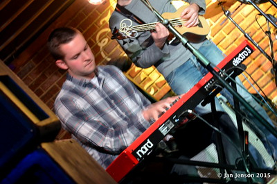 Stress Test at Charlotte Blues Society First Sunday - March 2015 Matt Branniff - keyboard