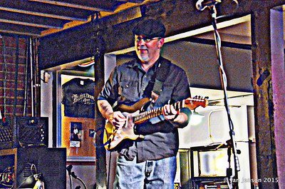 Stress Test at Charlotte Blues Society First Sunday - March 2015 Dave Eatman