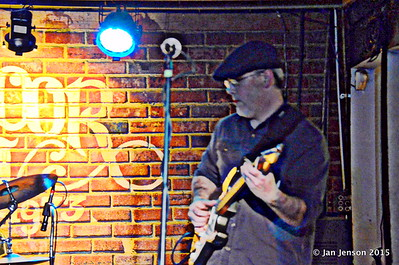 Stress Test at Charlotte Blues Society First Sunday - March 2015 Dave Eatman - guitar