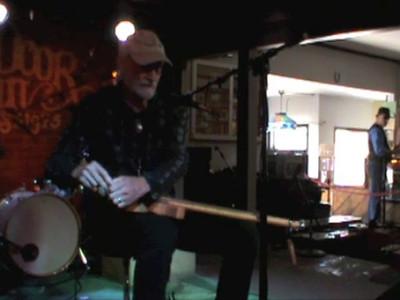 CBS Talent Competition 2011 - Sidewalk Bob 2 playing his cigar box guitar