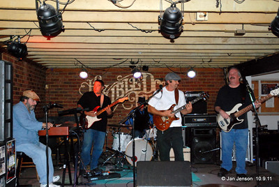 """Shuggie Brown - A Rockin Roadhouse Band """"Gruesome"""" Gary Northrup - guitar/vocals;  """"Funky"""" Phil Mihoan - keyboard;  Todd """"Terrific"""" Dillman - drums; """"Drivin' Dru Dixon - bass;   """"Vicious"""" Viv Vermiglio - guitar.  We are an Ass Kicking Rockin Roadhouse Band The band currently consists of a guitarist with strong rhythm, lead and vocal abilities, a monster keyboardist w/ killer vocals, a wicked lead guitarist, a kicking, stomping, solid drummer, and driving, thumping, popping bass player with an attitude. We play Rockin Blues, Southern Rock, Funk type stuff with some Classic Rock thrown in for good measure. Anything that makes people clap their hands, stomp their feet and shake their butts on a dance floor (i.e. Delbert McClinton, Jude Cole, SRV, Motor City Josh, etc.).  http://shuggiebrown.com"""
