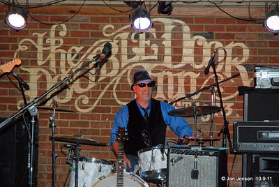 """Shuggie Brown Band  Todd """"Terrific"""" Dillman - One of Charlotte's premier drummers...when it's not raining and he has a kitchen pass.  Todd started playing the central Illinois circuit in 1984 with the Gemini Band covering top 40 and country music for three years before relocating to North Carolina. He has performed with Charlotte area bands such as Checked Past, Bait & Switch, Deja' Voo-Doo, The Remainders, No One U No,  and Beggars Union and has free-lanced with some of Charlotte's finest musicians.  He met Gary Northrup and liked his idea of a """"Roadhouse Band"""" playing tunes not covered by other area bands. Todd and Gary found the perfect mix of musicians with the same ideas, same drive, excellent musicianship and is proud to bring Shuggie Brown's Roadhouse style of Rockin' Blues into the Charlotte Music scene."""
