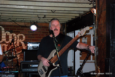 """Shuggie Brown Band """"Drivin"""" Dru Dixon - (Bass) Went to the store in 1976 and just made it back with the beer.  Dru has been playing bass since age 16 and made a good living with music through the late 70's and 80's. He traveled extensively along the East coast states & toured with various bands from Living Proof to Billy Jo Royal. Musically he has been everywhere, seen alot and played everything from Glenn Miller to Return to Forever & every style in between.  He has found a permenant home and gladly hang's his hat at the Shuggie Shack with Shuggie Brown. Come see us or you will truly miss out on one of the most talented elite bass players in the Carolina's.   This guy is a Monster!!!"""