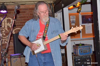 Rusty Barkley & cigar box guitar