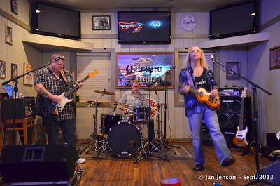 Ben Gatlin Band @ Finz in Matthews, NC - 9-27-13