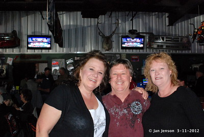 Pat Willis, Ronnie Phillips (drummer) and ???
