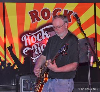 Ron Sheehan Shades Of Blue - Rockin' Blues Jam @ Stooges, Mint Hill, NC 6-17-15