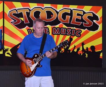 Mark Mulholland Shades Of Blue - Rockin' Blues Jam @ Stooges, Mint Hill, NC 6-17-15