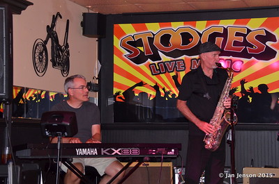 Shades Of Blue - Rockin' Blues Jam @ Stooges, Mint Hill, NC  6-17-15