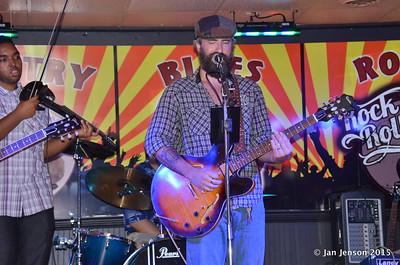 Emanuel Wynter, Sean Stoots Shades Of Blue - Rockin' Blues Jam @ Stooges, Mint Hill, NC 6-17-15