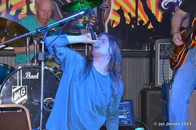 Martin Gaffney, Dillon Shammond Shades Of Blue - Rockin' Blues Jam @ Stooges, Mint Hill, NC 6-17-15