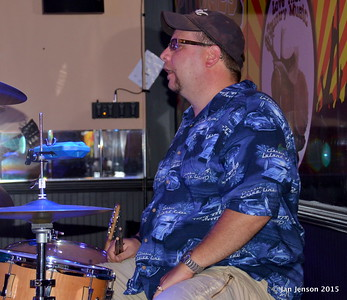 Doug Blomstrom Shades Of Blue - Rockin' Blues Jam @ Stooges, Mint Hill, NC 6-17-15