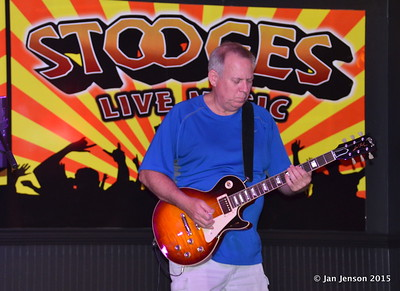 Mark Mulholland Shades Of Blue - Rockin' Blues Jam @ Stooges, Mint Hill, NC 6-17-15