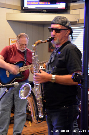 Blues Jam at Finz - May 2014