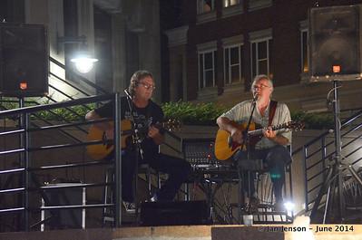 Bobby Donaldson and Rusty Barkley