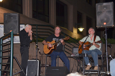 Bill Miller, Bobby Donaldson and Rusty Barkley
