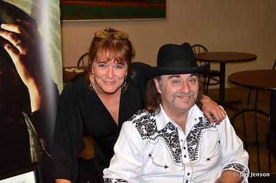 Becca Thompson and Chuck Johnson at McGlohon